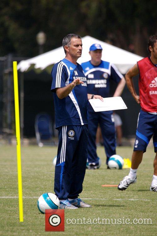 Avraham Grant Chelsea Football Club Training Camp at...