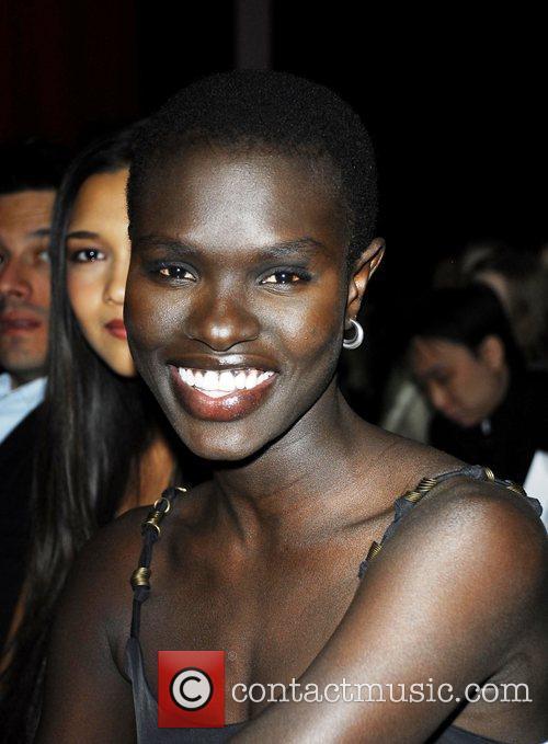 Ajuma Nasenyana Ford Models present Supermodel of the...