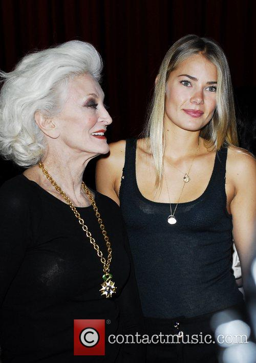 Carmen Dell'Orifice and Tori Praver Ford Models present...