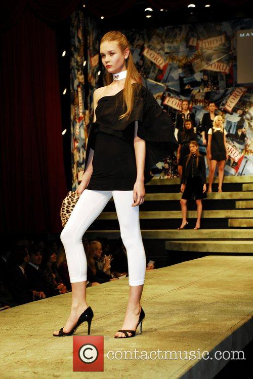 Natalia Belobrovik from Russia Ford Models present Supermodel...