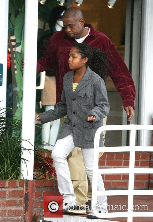 Forest Whitaker and Daughter 2