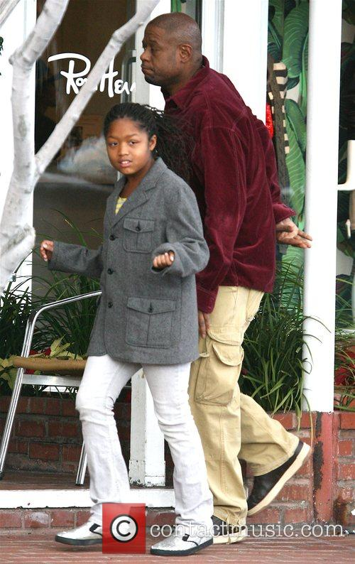 Forest Whitaker and Daughter 4