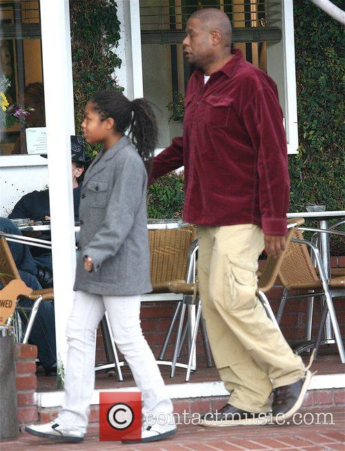 Forest Whitaker and Daughter 1