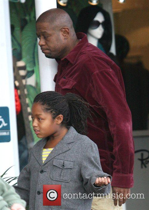 Forest Whitaker and Daughter 3