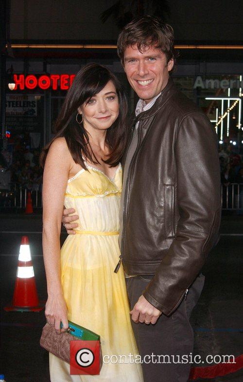 Alyson Hannigan and Alexis Denisof Premiere of 'Forgetting...