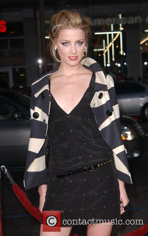 Amber Heard Premiere of 'Forgetting Sarah Marshall' at...