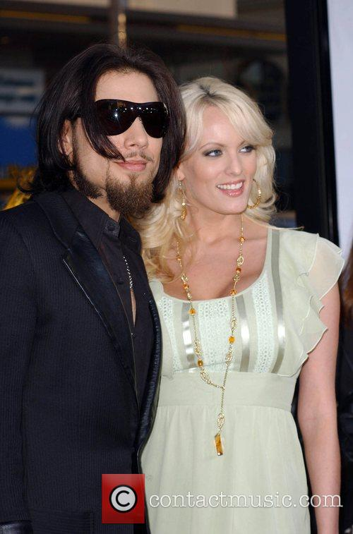 Dave Navarro and Stormy Daniels Premiere of 'Forgetting...