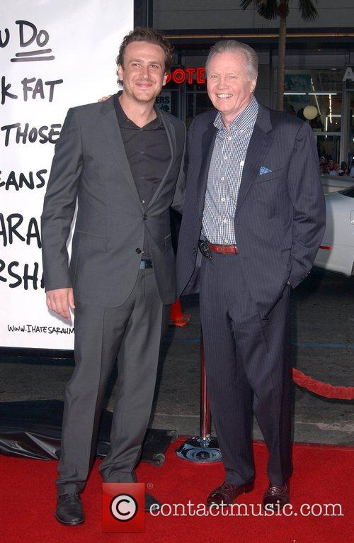 Jason Segel and Jon Voight Premiere of 'Forgetting...