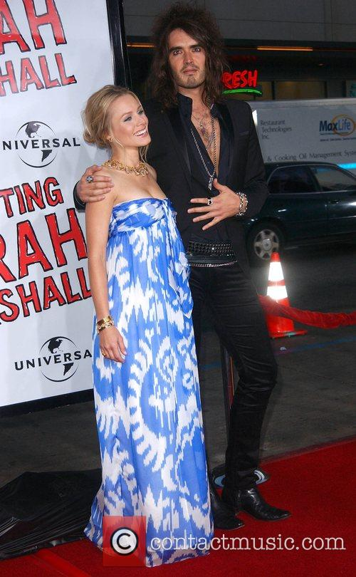Kristen Bell and Russell Brand 8