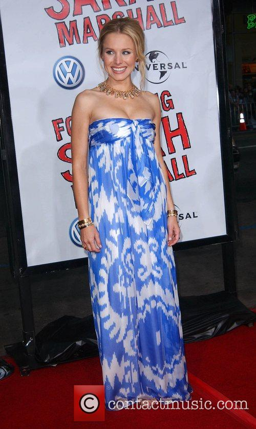 Kristen Bell Premiere of 'Forgetting Sarah Marshall' at...