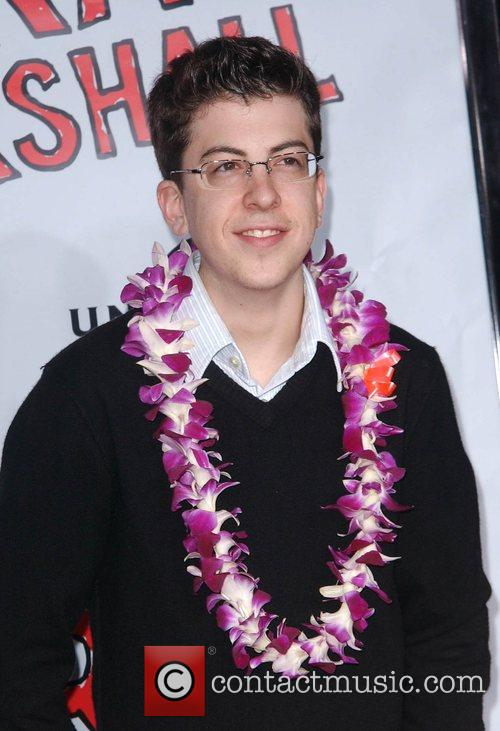 Christopher Mintz-Plasse Premiere of 'Forgetting Sarah Marshall' at...