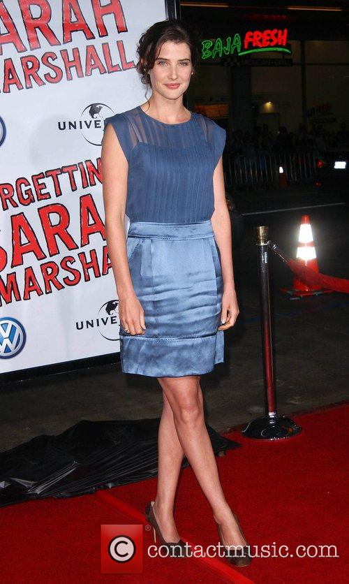 Cobie Smulders Premiere of 'Forgetting Sarah Marshall' at...