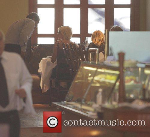 Paris Hilton, Nicole Richie and Nicky Hilton enjoying...