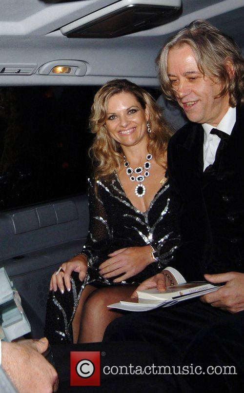 Bob Geldof and Jeanne Marine 7