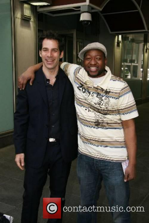 'Rolling Stone' editor Joe Levy and Sherrod Small...