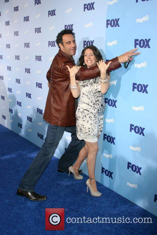 Brad Garrett and Joely Fisher 2