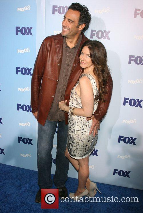 Brad Garrett and Joely Fisher 1