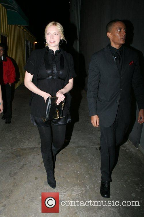 Laura Prepon leaving Foxtail restaurant Los Angeles, California