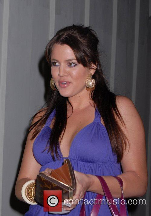 Khloe Kardashian leaving Foxtail restaurant West Hollywood, California