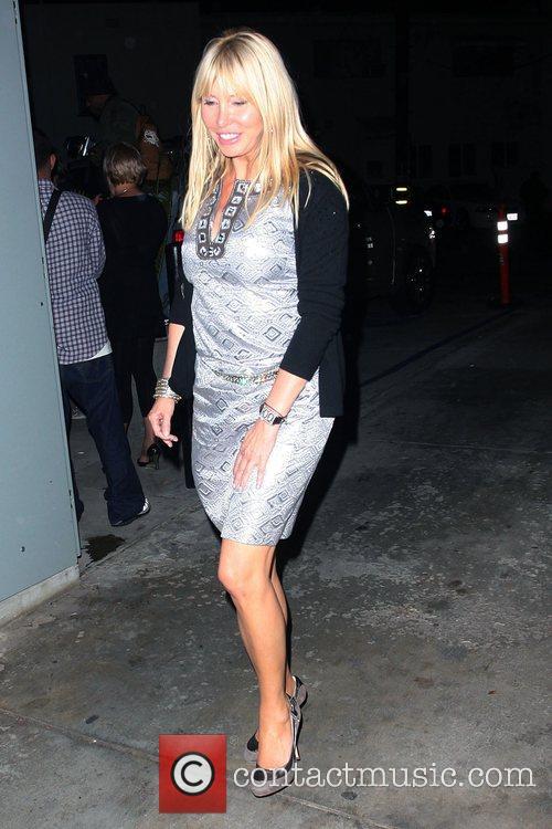 Lisa Gastineau at Foxtail nightclub in West Hollywood...