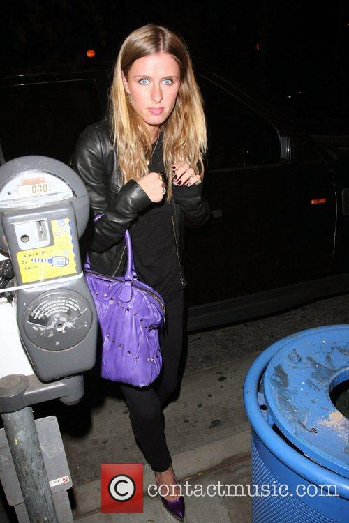 Nicky Hilton at Foxtail nightclub in West Hollywood