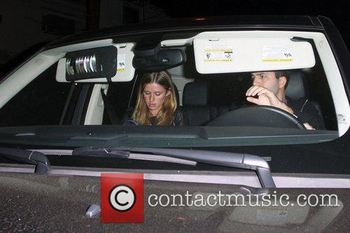 Nicky Hilton and David Katzenberg at Foxtail nightclub...