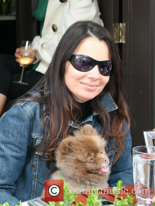 Fran Drescher and Her Dog Esther 4