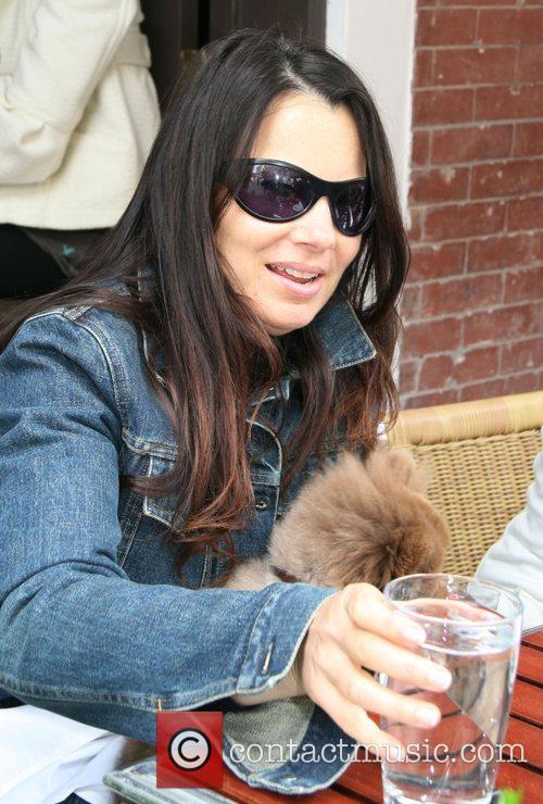 Fran Drescher and Her Dog Esther 2