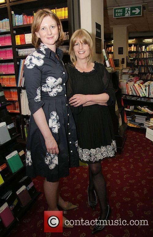 Frances Osborne, writer Rachel Johnson