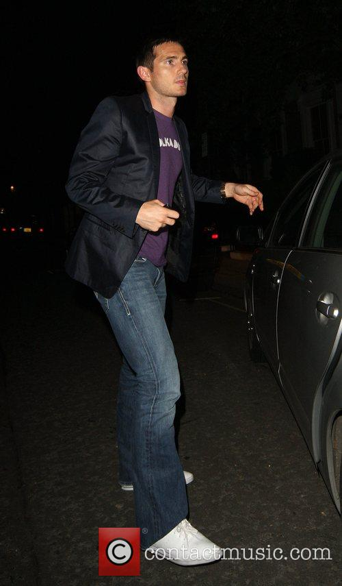 Frank Lampard arriving home at 3am looking miserable,...