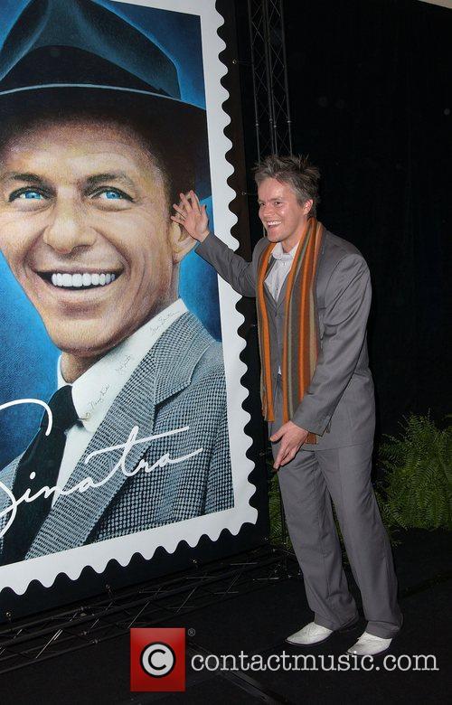 Kazuhiko Sano Frank Sinatra Stamp Unveiling Ceremony at...