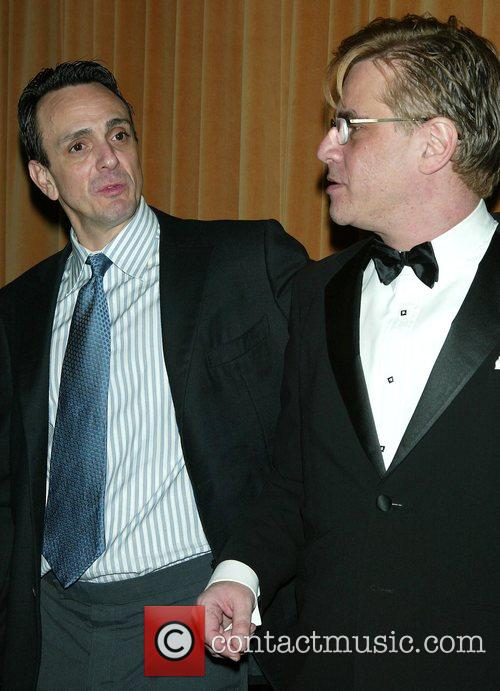 Hank Azaria and Aaron Sorkin 1