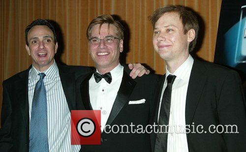 Hank Azaria and Aaron Sorkin 3