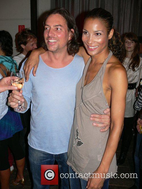 Jesko Klatt and Annabelle Mandeng f.rau Becker Fashion...
