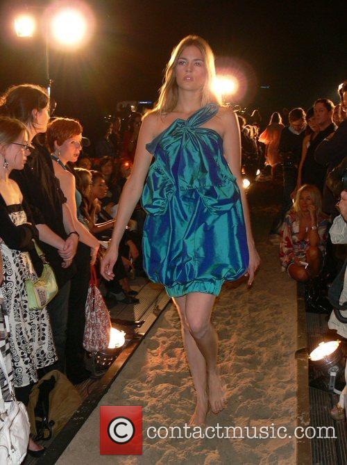 Tonia Michaely f.rau Becker Fashion Show at the...