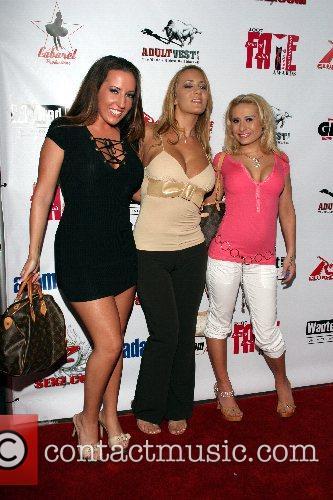 Richelle Ryan, Trina Michaels and Rebecca Steel Freaky...