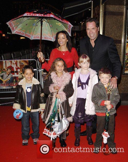 David Seaman and Debbie Seaman with their family...