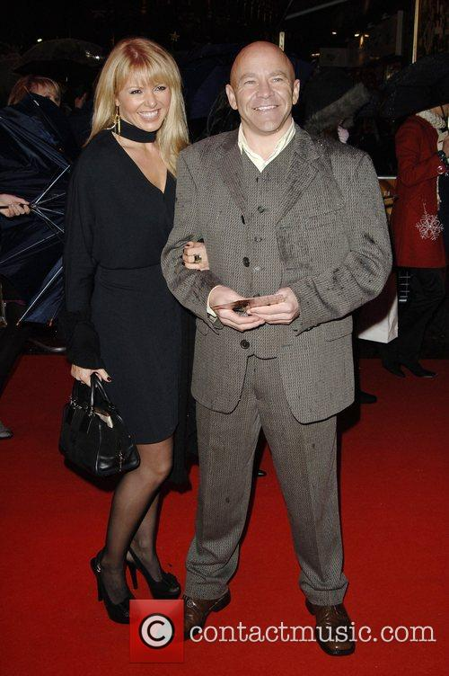 Dominic Littlewood and guest 'Fred Claus' UK Premiere...