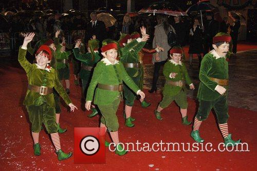 Elves 'Fred Claus' UK Premiere held at the...