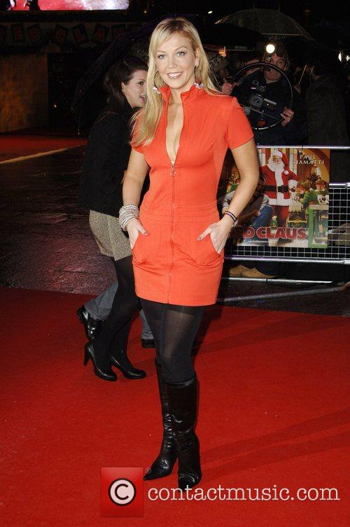 Liz Fuller 'Fred Claus' UK Premiere held at...
