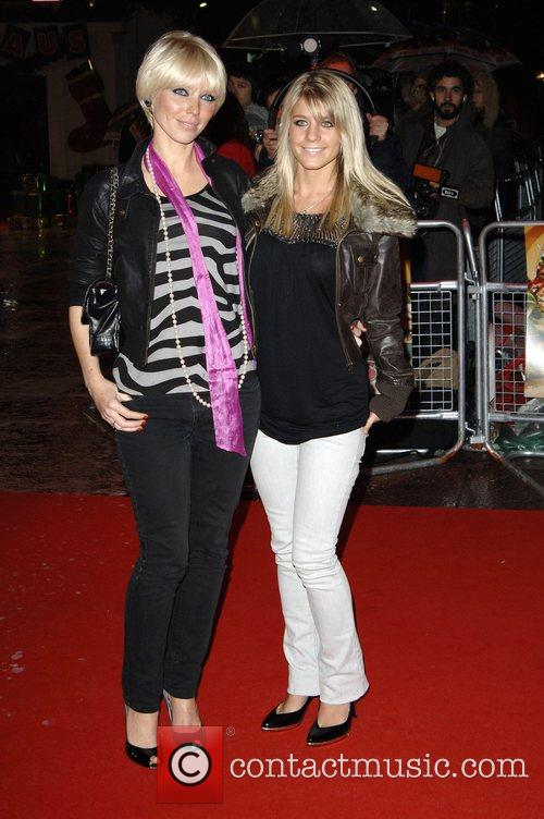 Melanie Slade and guest 'Fred Claus' UK Premiere...