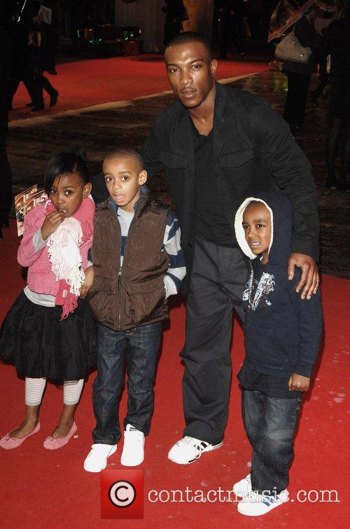 Ashley Walters and guests 'Fred Claus' UK Premiere...