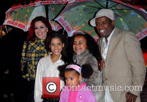Carrie Grant and David Grand with children 'Fred...
