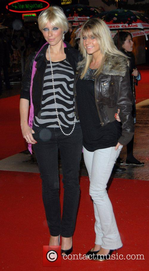 Charlotte Dutton and Mel Slade 'Fred Claus' UK...