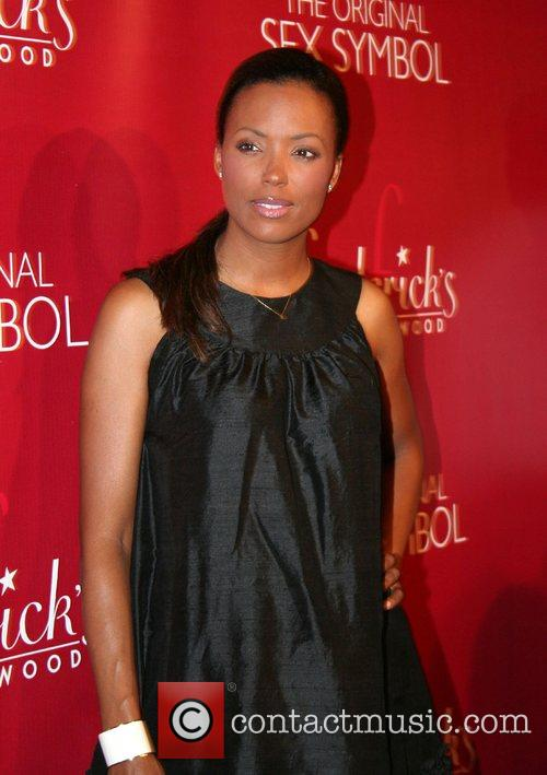Aisha Tyler Frederick's of Hollywood 2008 Spring collection...