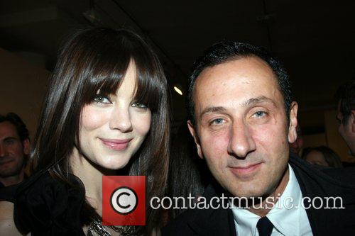 Gilles Mendel and Michelle Monaghan Free Arts NYC...