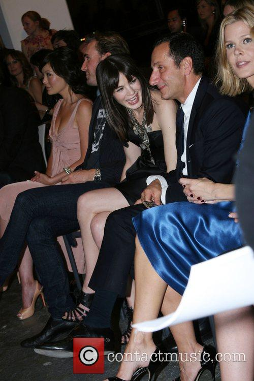 Lindsay Price, Gilles Mendel and Michelle Monaghan 2