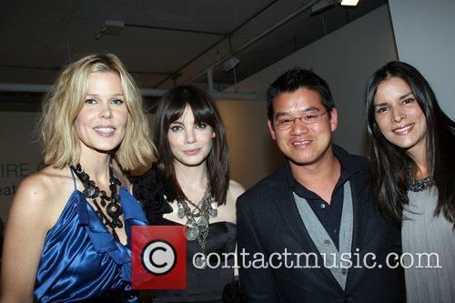 Mary Ellen Stephenson, Michelle Monaghan, Peter Som and...