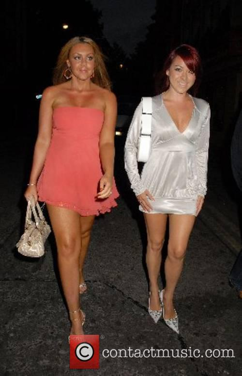 Michelle Heaton and Lisa Scott Lee arrives at...