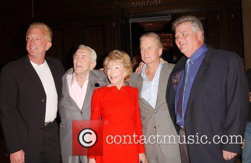 Guest, Kirk Douglas, Anne Douglas aka Anne Buydens,...